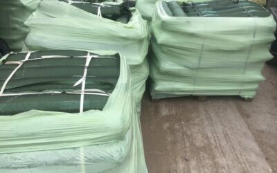 Filled Gravel Bags/Silo pit weights